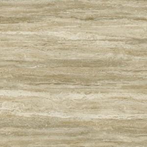 Kolekcja glazury Trevia inspirowana naturalnym trawertynem. Delikatny zarys kamienia w ciepłych odcieniach beżu, 30x60cm. Ok. 70 zł/m2, Ceramstic