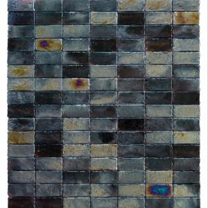 Mozaika szklana z serii Fat Cube tworzy oryginalne efekty wizualne, polecana do brodzików, 29x32cm. 393 zł/m2 lub 37 zł/szt. Dunin