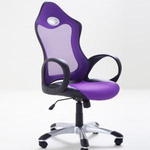 Intensywnie fioletowy fotel I Chair. Producent: Bieliani. Fot. Bieliani.