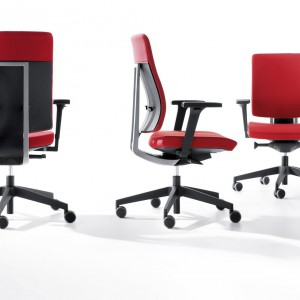 Krzesło obrotowe Xenon. Producent: Profim. Fot. MTP.