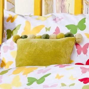 Komplet pościeli Mariposa z kolorowymi motylami. Fot.Home & you.