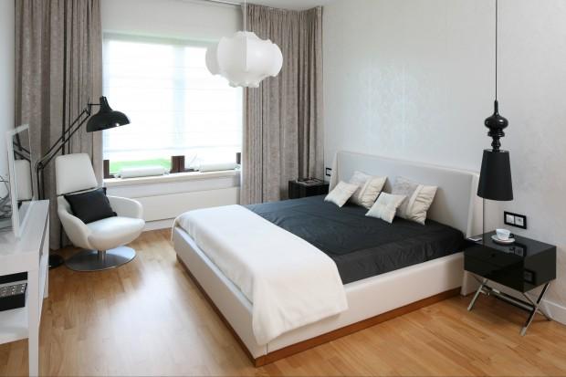 Jasna, elegancka sypialnia. Ponadczasowa klasyka