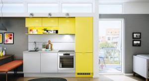 Kolor żółty w kuchni sprawdzi się doskonale. Będzie wiosennie, radośnie i pięknie. I to przez cały rok.