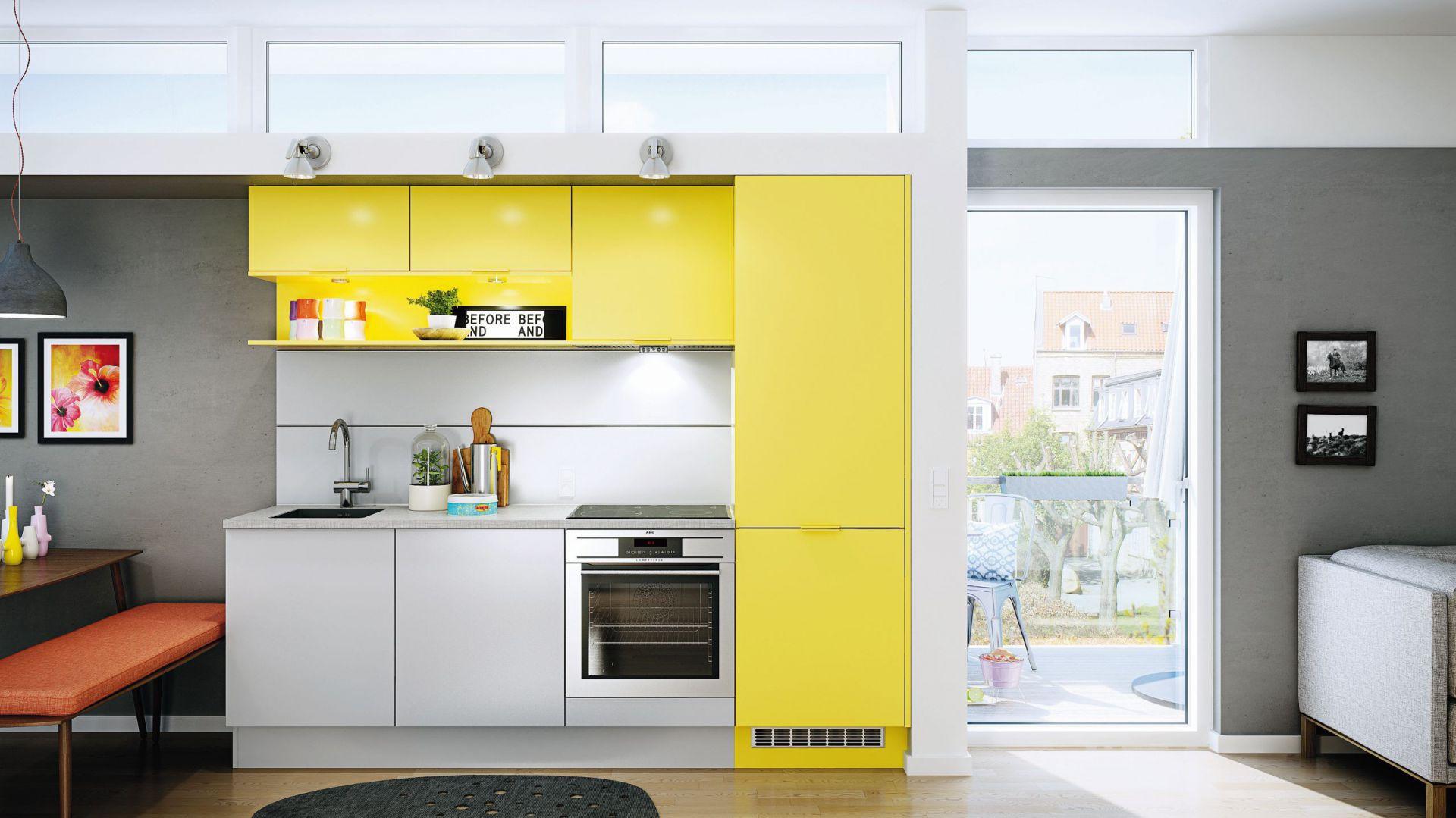 pe�en życia i energii piękne kuchnie w ż243�tym kolorze