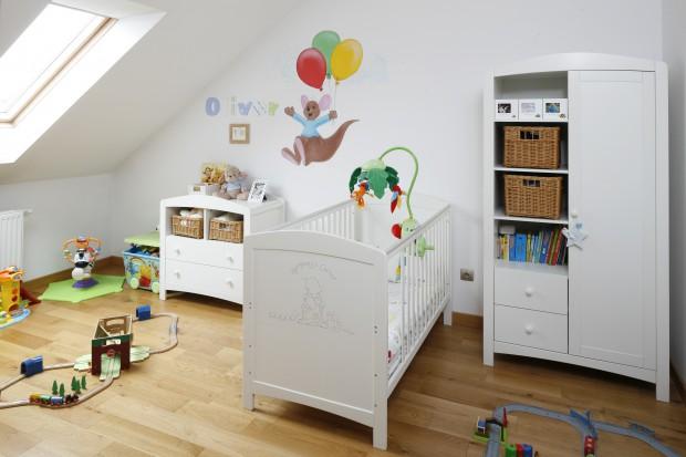 Kubuś Puchatek w pokoju dziecka