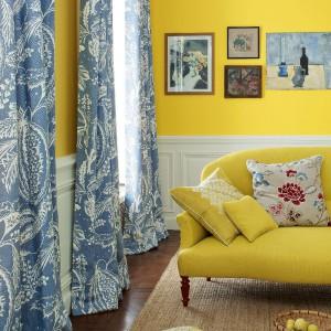 "Trend ""Żółty+szary"". Nowa kolekcja marki tkanin Manuel Canovas na 2014 rok. Fot. Manuel Canovas."