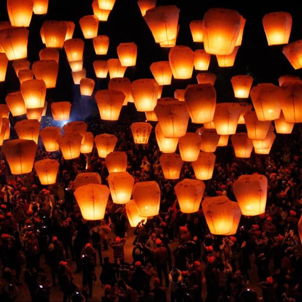 Papierowe lampiony. Nowa moda z Chin