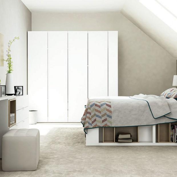 Urządzamy sypialnię na poddaszu. Zobacz praktyczne rozwiązania