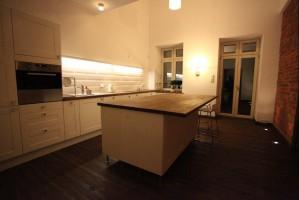 Dom z cegły - kuchnia.