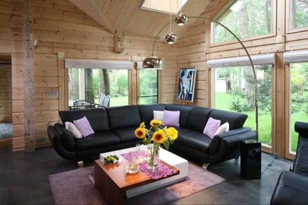Jak ustawić kanapę w salonie? 15 najlepszych pomysłów, dużo zdjęć