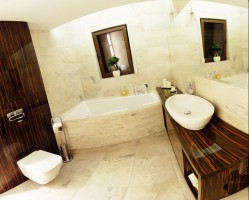 Dom w Lipnie - łazienka.