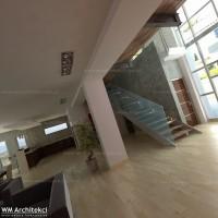 Dom w Argaka, Pafos - hall i schody.