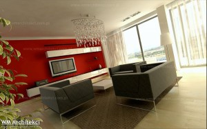 Dom w Argaka, Pafos - salon.