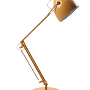 Zgrabna lampa w żółtym kolorze. Fot. Zuiver.