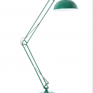 Seledynowe oświetlenie wprowadzi do biura wiosnę. Fot. dunnesstores.com.