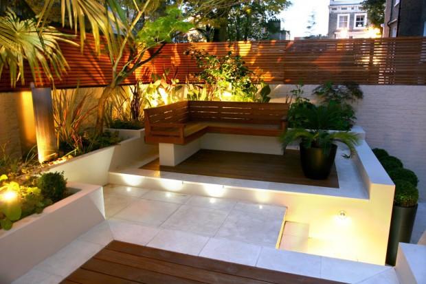Mały ogród. 20 sposobów na aranżację