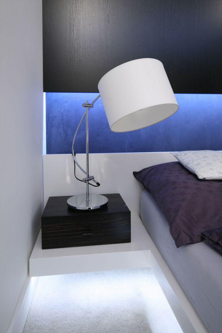 Oświetlenie Led W Sypialni Galeria Dobrzemieszkajpl