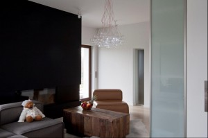 Dom jednorodzinny, 300m2 - salon.