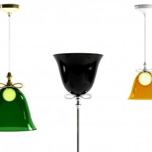 Lampę Bell w kształcie dzwonka zaprojektował Marcel Wanders dla marki Moooi. Fot. Moooi.