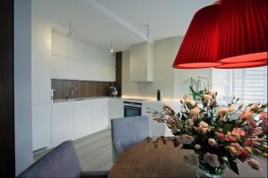 Mieszkanie 55 m2 - kuchnia z jadalnią.