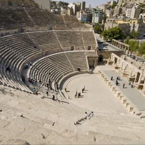 Rzymski amfiteatr Amman, Al-Qasr site, Jordan