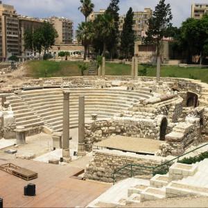 Rzymski amfiteatr w Alexandrii