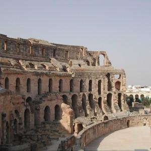 Amfiteatr El Djem, Typhrus, Tunezja