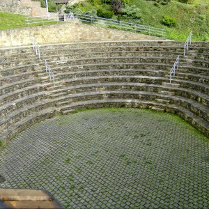 Falkenstein Burg Amphitheater