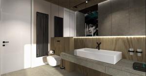 Apartament w Poznaniu - łazienka.