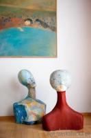 Właściciele lokalu kochają sztukę, nawiązanie do tradycji, nie boją się kolorów oraz cenią nowoczesność. Ulubionym stylem Inwestorów jest lekkie Art Deco. Naszym zadaniem była aranżacja wnętrz z użyciem posiadanych przez właścicielkę elementów sztuki użytkowej oraz stylowych mebli z lat 30-tych XX. wieku. Na potrzeby projektu powstały dodatkowo prace rzeźbiarskie ulubionej przez Inwestorkę artystki, Pani Weroniki Wróbel-Maciejewskiej.