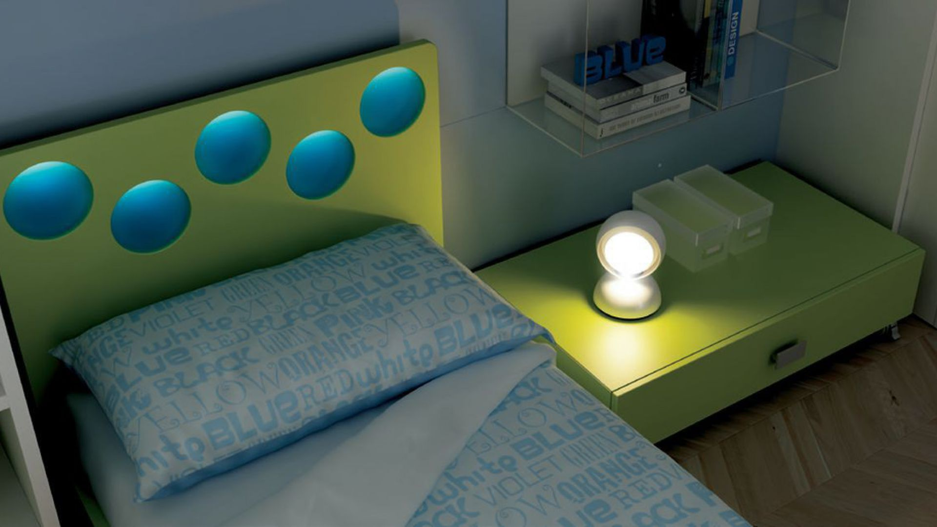 Zabawne Jasne Kolorowe Lampy Dla Dzieci