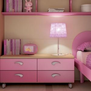 Oświetlenie do pokoju dziewczynki. Moretti Compact.