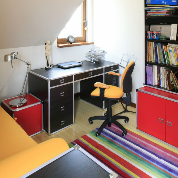 Kolorowy pokój dla nastolatka. Optymizm to podstawa