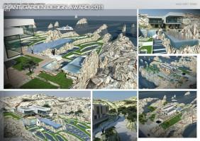 Praca konkursowa - SLANT Garden Design Award 2011 - WYRÓŻNIENIE