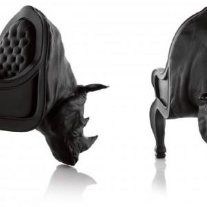 Fotel Rhino. Proj. i fot. Maximo Riera.