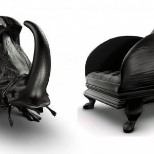 Fotel Beetle. Proj. i fot. Maximo Riera.