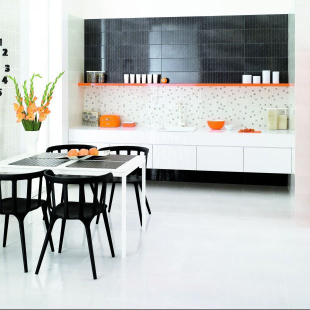 Podłoga w kuchni  – wykończ ją płytkami. 15 najciekawych kolekcji