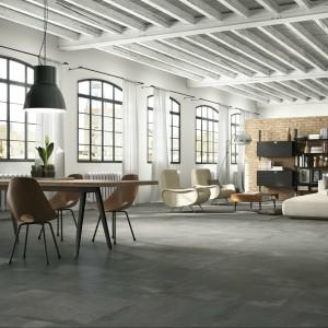 Gres rektyfikowany z kolekcji Ceracone doskonale imitujący beton. Płytki dostępne są w kilku rozmiarach: 90x90 cm, 45x90 cm, 45x45 cm, 60x60 dm, 30x60 cm oraz kolorach: beż, ciemny szary, szary, czarny, biały. Cena na zapytanie, ImolaCeramica/Cermag24.pl.