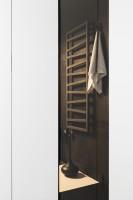 W tym unikatowym wnętrzu nic nie jest przypadkowe, nawet szczotka toaletowa wygląda jak dzieło sztuki.