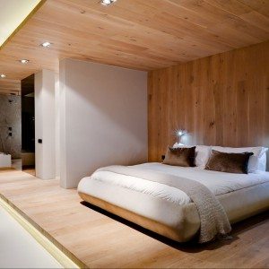 Sypialnia hotelu POD w Kapsztadzie. Fot. Greg Wright Architects.