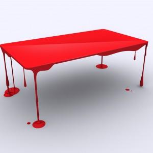 Dripping Table projektu Johna Nouanesinga. Fot. John Nouanesing.