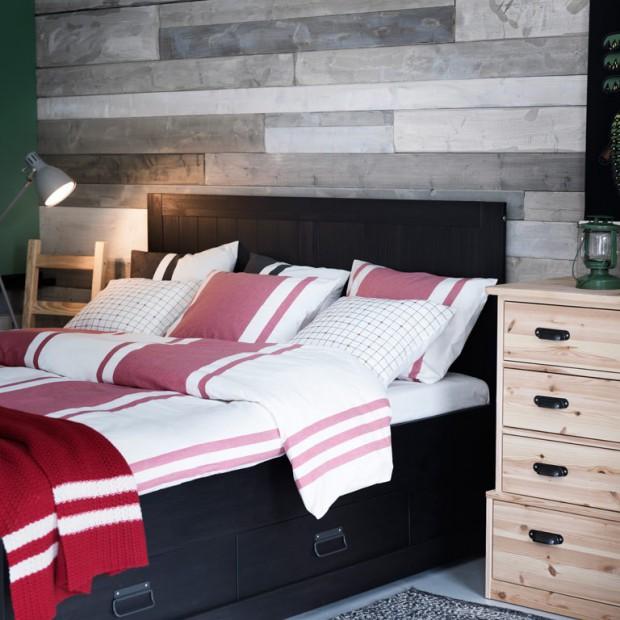 Łóżko z pojemnikiem. Funkcjonalne rozwiązanie do sypialni
