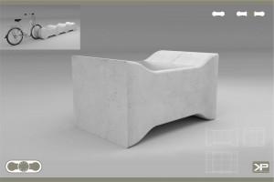 SEAT FLOOD - modułowe prefabrykowane siedziska z betonu architektonicznego na tereny zalewowe, parki, skwery, osiedla nie monitorowane