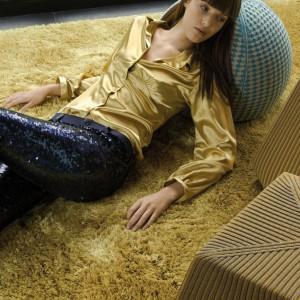 Miękki dywan z kolekcji Bonnet marki Casalis. Fot. Casalis.