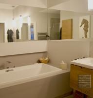 Sztuka i przestrzeń - łazienka.