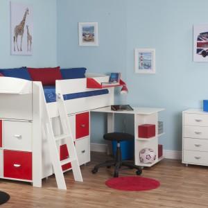 Rozwiązanie przeznaczone do jednoosobowego pokoju. Fot. Bensons For Beds.