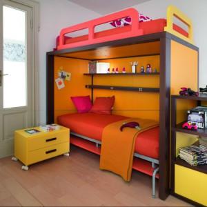 Uniwersalny model łóżka. Fot. Dearkids.it.