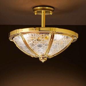 Oświetlenie idealne do gabinetu w stylu klasycznym. Fot. Possoni.