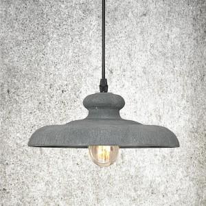 Betonowa lampa Concrete podkreśli charakter biura w stylu loft. Fot. Nowodvorski Lighting.
