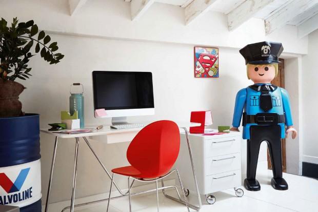 Pokój dla chłopca w skandynawskim stylu